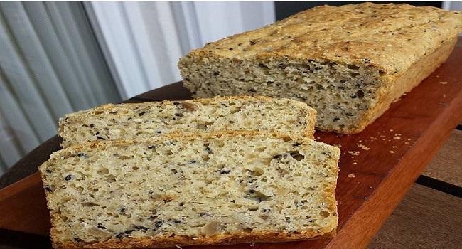 Pão de Castanha e Mix de Sementes