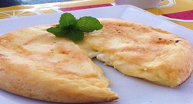 Receita de Pão de queijo de frigideira gostoso